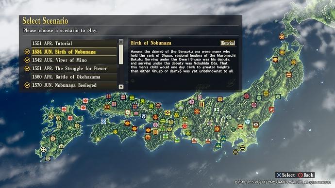 Birth of Nobunaga