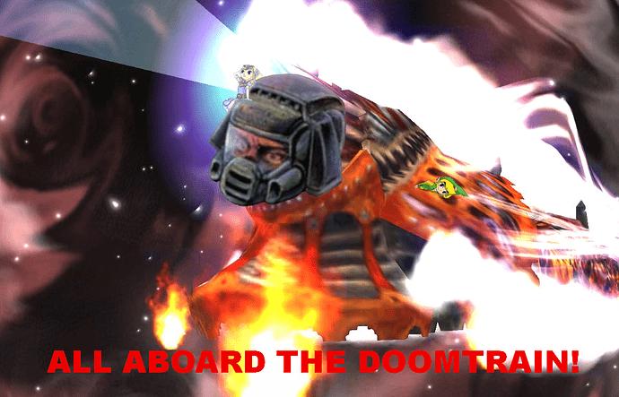 All Aboard the Doomtrain