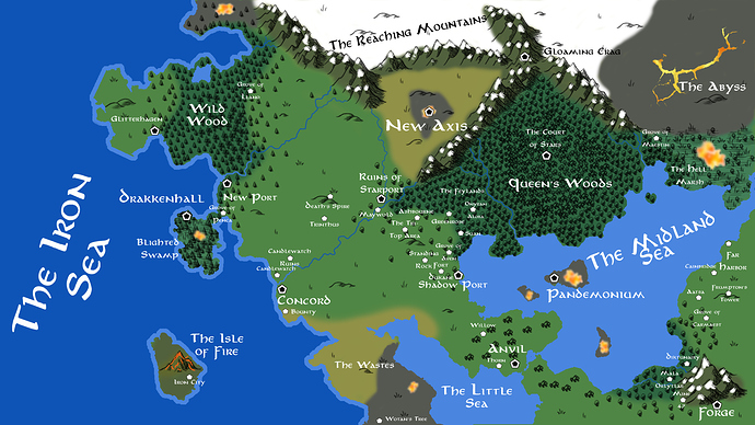 13th age chapter 4 map update