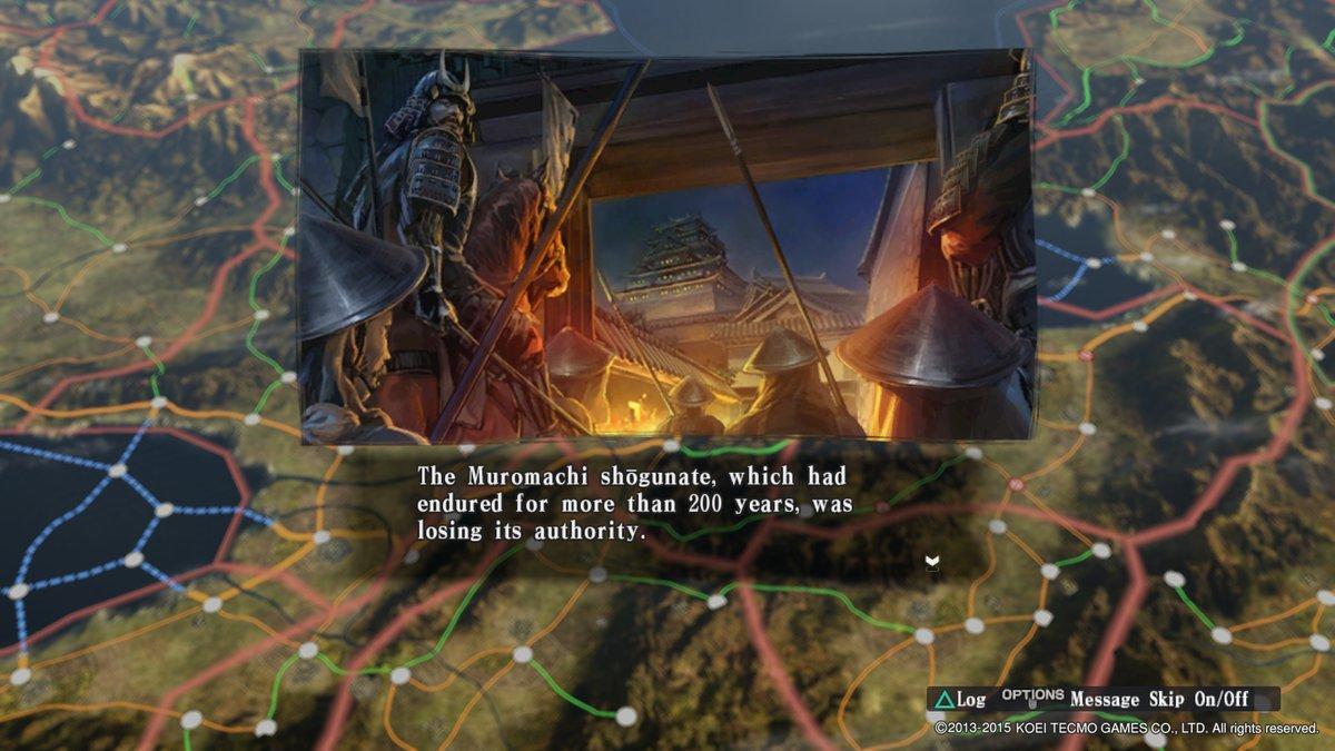 The Muromachi Shogunate Which Had Endured