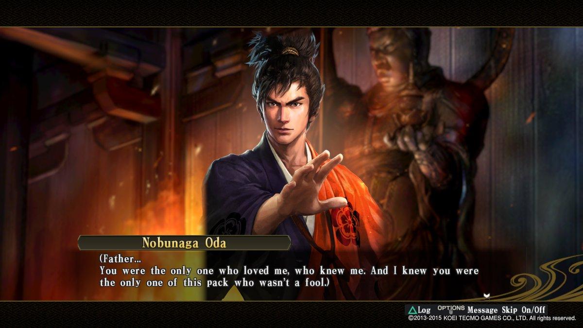 Nobunaga Mourns Nobuhide 1