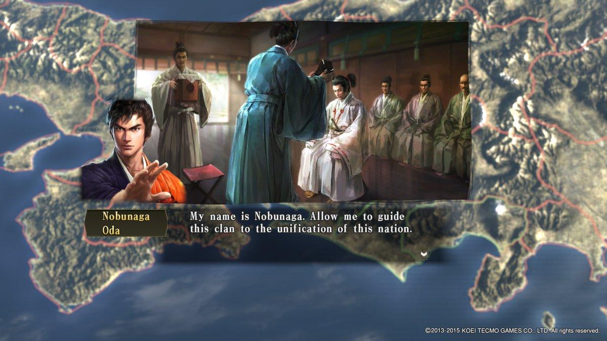 Nobunaga Becomes Officer