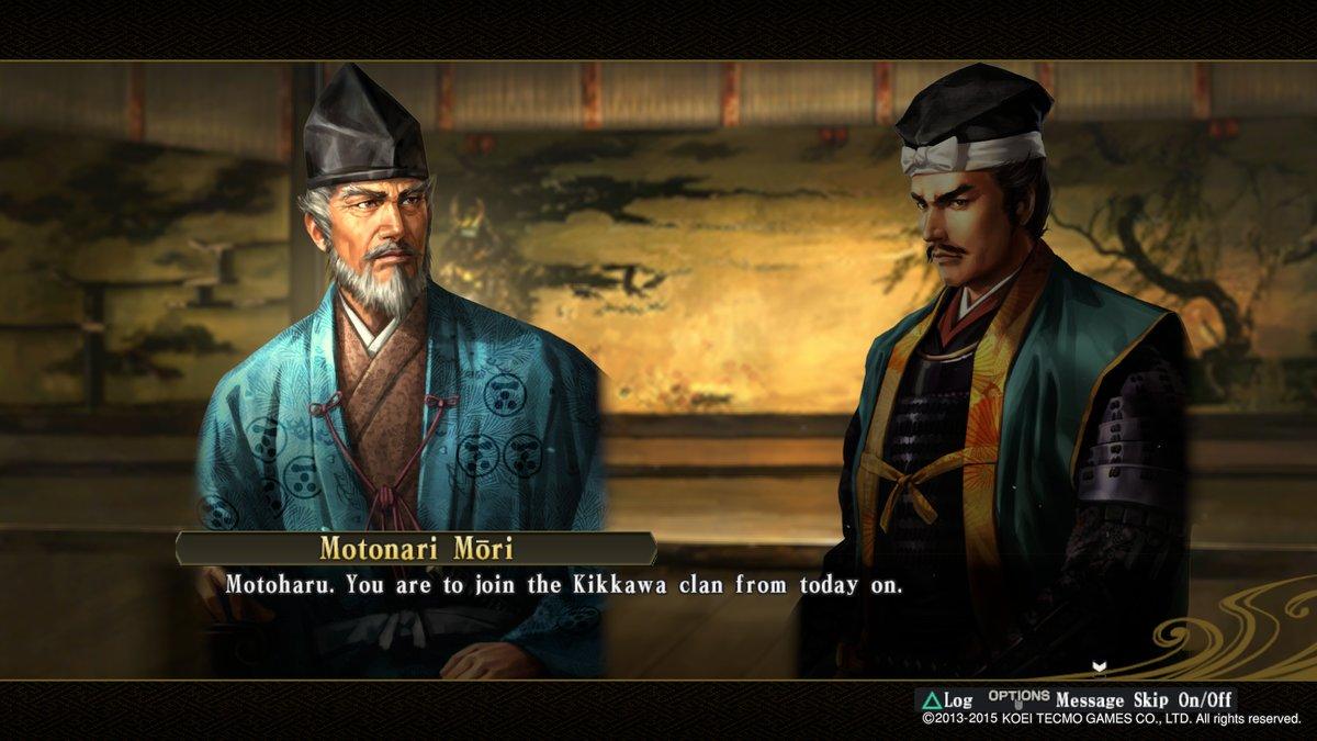 Motoharu You Are To Join THe Kikkawa