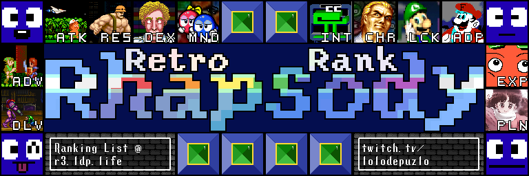 Retro Rank Rhapsody: It's like a Sampler Platter but with old games