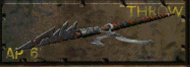 Throw spear