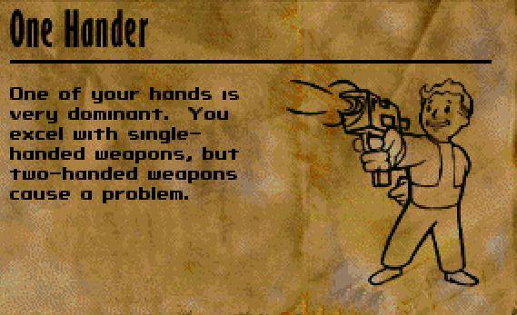 One Hander